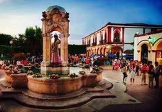 Pueblo Mágico de Jiquilpan, Michoacán. Mexico
