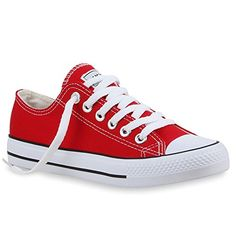 DAMEN SCHUHE 24759 SNEAKERS ROT 45 - http://on-line-kaufen.de/stiefelparadies/45-stiefelparadies-damen-schuhe-sneakers-low-top