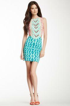 Sleeveless Cutout Mini Dress by Mara Hoffman on @HauteLook