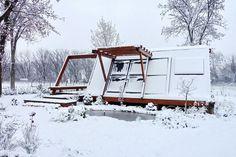 Casa din lemn inovativa si extrem de ecologica. Si noi construim case din lemn http://www.mobina.ro