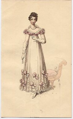 1820 La Belle Assemblee. Another dress Joan would have loved to wear.