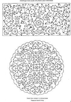 Marble Art, Tile Art, Pattern Drawing, Pattern Art, Embroidery Hoop Art, Embroidery Patterns, Turkish Pattern, Tie Dye Crafts, Illumination Art