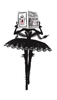 la petite robe noire guerlain parfum illustré