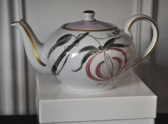 Hand-painted French Limoges Porcelain by Marie Daage ~ Collection:  Jardin D'Udaïpure