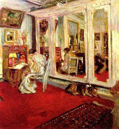 The Hessels in their Dressing Room - Edouard Vuillard
