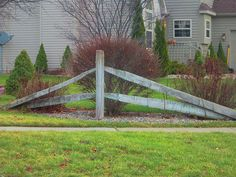1000 Images About Fence Corner On Pinterest Split Rail
