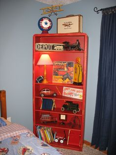 Inspired Vintage Planes Trains & Automobiles Little Boys Room.