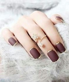 Simple Nail Art Designs That You Can Do Yourself – Your Beautiful Nails Fancy Nails, Trendy Nails, Love Nails, My Nails, Classy Nails, Chic Nails, Polish Nails, Simple Nails, Fabulous Nails