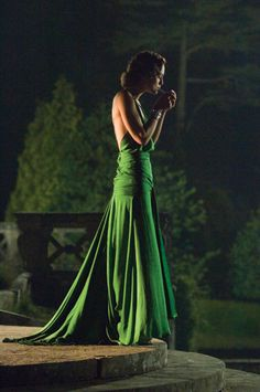 I wouls love to have this green dress, and an occasion to wear it.
