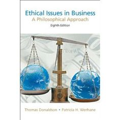 This book offers a mix of case studies and theoretical articles. The articles range from classics in moral theory and economics, to modern commentaries by business executives. It tackles current issues, including material on: The accounting scandal at WorldCom and the pension plan crisis; The impact on employees of working for Walmart; Extensive coverage of globalization; ExxoMobil and the Chad/Cameroon pipeline; Women and business, etc.  Cote	: 4-33 ETH