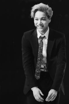 A real smile on Kai, I hope he always has a reason to smile for real.