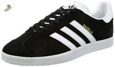 uk availability 3d511 36de6 adidas Gazelle Unisex Trainers Black White - 7 UK - Adidas sneakers for  women (