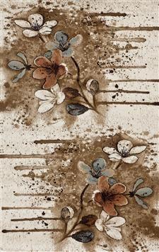 Efsane Kumsal 12025-070  pop art halı modelleri