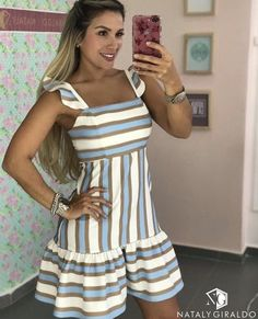 Pin by Girl Daily Fashion on Fashion Dresses in 2019 Simple Dresses, Cute Dresses, Casual Dresses, Short Dresses, Fashion Dresses, Summer Outfits, Cute Outfits, Summer Dresses, Classy Outfits