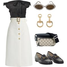 Designer Clothes, Shoes & Bags for Women Disneyland Outfit Summer, Disneyland Pins, Disneyland Outfits, Bella Freud, Jean Paul Gaultier, Everyday Fashion, Moschino, Outfit Ideas, Gucci
