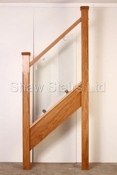 Glass Stair Railing Balustrade, Timber and Glass Handrails Glass Stair Balustrade, Stair Railing, Oak Stairs, Glass Stairs, Types Of Stairs, Range, Shelves, Design, Home Decor