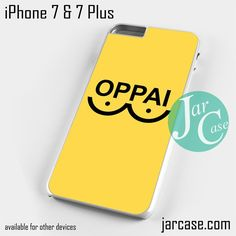 One Punch Man Yellow oppai Phone case for iPhone 7 and 7 Plus