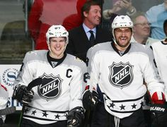 January 29, 2016 at the NHL All-Star Tournament: Sidney Crosby captained the Metropolitan Division to victory over the Pacific Division. Crosby played on a line with Alex Ovechkin.