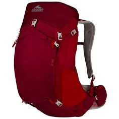 Check this Out.... Gregory Mountain Products Z 35 Backpack, Spark Red, Medium  has recently been posted to  http://bestoutdoorgear.co/gregory-mountain-products-z-35-backpack-spark-red-medium/