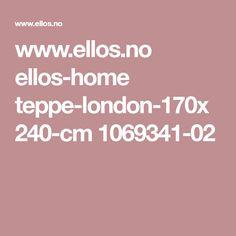 www.ellos.no ellos-home teppe-london-170x240-cm 1069341-02 Elsa, Indie, Weather, London, Living Room, Furniture, Big Ben London, Sitting Rooms, Drawing Room