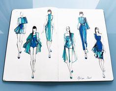 Mélique Street - #Fashionary #Fashion #Art #Fashion_Illustrations #Fashion_Sketches
