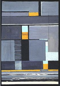 Gunta Stolzl- Design for a wall hanging - Bauhaus Weimar - The J. Paul Getty Museum, Malibu, CA. Different color scheme, similar pattern, LR rug Surface Design, Bauhaus Textiles, Anni Albers, Walter Gropius, Bauhaus Design, Getty Museum, Piet Mondrian, Wow Art, Art Moderne