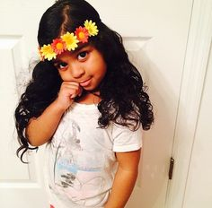 Why is this little girl prettier than me ¿