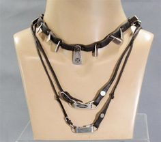 BLACK SAILS CAPTAIN CHARLES VANE ZACH MCGOWAN SCREEN WORN NECKLACE SET SS 1