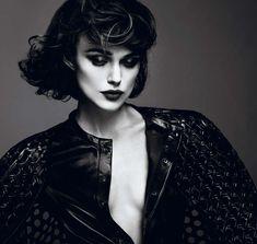 Keira Knightley by Mert & Marcus - Dark Rebellious Editorials: interview magazine april 2012