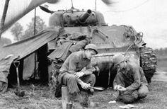 191st tank battalion near Rambervillers France 15 september 1944