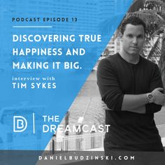 """Everyone is looking for happiness. They often look to money to fulfill that place in their life. Timothy Sykes says it best, """"It's not about making money, it's about being honest and that's the revolutionary concept."""" You've gotta hear Tim's story how he turned his $12,000 Bar Mitzvah money into now a $4,400,000 earnings. He's been on Larry King, Steve Harveys show and been recognized everywhere for his passion to change the world one penny at a time. Share and tag a friend that would enjoy…"""