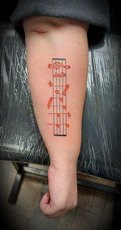 @westend_tattoo @westendtattoobp #westendtattooandpiercing #tattoo #small tattoo #violinkeytattoo #musicalnotetattoo #sheetmusictattoo #tetoválás #kistetoválás xhangjegytetoválás #kottatetoválás #violinkulcstetoválás # Budapest, Small Tattoos, Piercing, Little Tattoos, Piercings, Small Tattoo, Mini Tattoos, Tiny Tattoo, Body Piercings