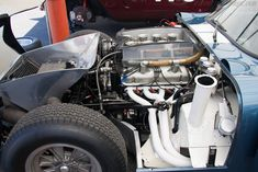 1964 Shelby Cobra Daytona, VIN CSX2299 at 2004 Le Mans Classic (engine 2)