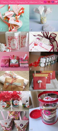Packaging ideas for Valentine's Day