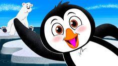 Penguin Song ♫ Brain Breaks ♫ Kid Songs by The Learning Station