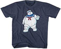 Ghostbusters Bill Murray film mens T-Shirt MR STAYPUFT the Marshmallow man