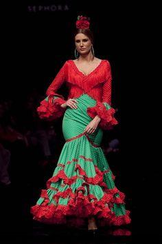 mama de mayor quiero ser flamenca: PILAR VERA - LAS BURJAS