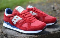 Saucony Shadow Original | Red & Blue