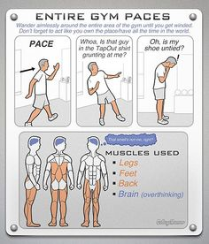 For those of you that don't know how to workout at the gym lol.