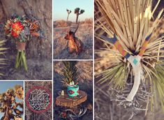 American Southwest wedding inspiration board designed by Primary Petals and shot  by Lukas & Suzy VanDyke Photography