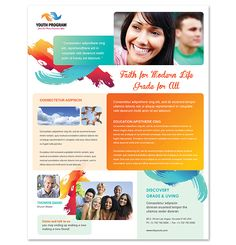 Church Youth Ministry Flyer Template http://www.dlayouts.com/template/969/church-youth-ministry-flyer-template