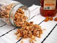 Homemade Granola This is the easiest I have ever made. I added wheat germ and ground flax seed. Great basic granola!! mjk