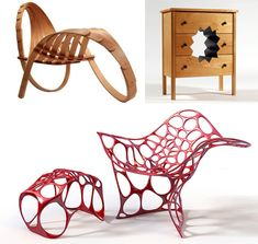 There is plenty of room for creativity in furniture, but this typically requires that functionality be maintained, and that users can figure out how to use it.