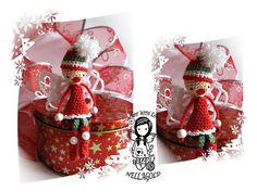 Vánoční Skřítek - návod 75 Christmas Ornaments, Holiday Decor, Home Decor, Decoration Home, Room Decor, Christmas Jewelry, Christmas Decorations, Home Interior Design, Christmas Decor