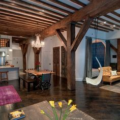 Wood Beam Frames Design Ideas, Pictures, Remodel, and Decor - page 7