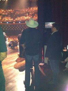 Backstage - Grand Ole Opry - Enjoyed going back stage with neighbors several times while living in Brentwood.
