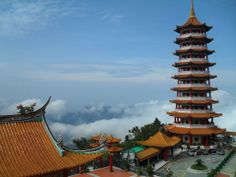 Temple up in Genting Highlands.