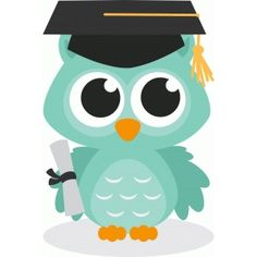 I think I'm in love with this shape from the Silhouette Design Store! Graduation Clip Art, Graduation Cards, Owl Crafts, Diy And Crafts, Crafts For Kids, Owl Clip Art, Owl Art, Silhouette Design, Owl Silhouette