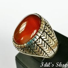 Authentic Turkish Ottoman Style Handmade 925 Sterling Silver Ring by Idil's Shop, $85.00 Fashion Accessories, Fashion Jewelry, Men's Fashion, Gold And Silver Rings, Turkish Jewelry, Sterling Silver Bracelets, Jewelry Rings, Jewelry Design, Rings For Men