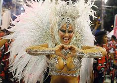 Viviane Araujo, rainha da bateria, Rio de Janeiro, samba carnaval